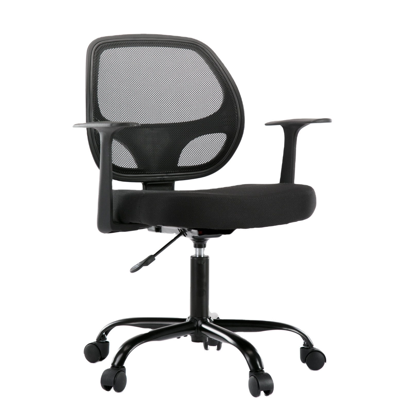 USA STOCK Mid-Back Desk Office Chair Task Chair with Armrests - Full Mesh Swivel Chair