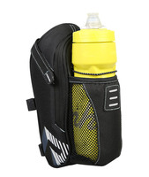 Bicycle Cycling Polyester Saddle Bag with Pocket for Water Bottle