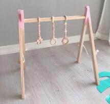 Декор для детской комнаты в скандинавском стиле, игровая игрушка для тренажерного зала, деревянная детская сенсорная игрушка, подарок для д...(Китай)