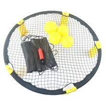 Großhandel Strand Spikeball Outdoor Sport Strand Ball Spiel 3 Ball Spikeball Set