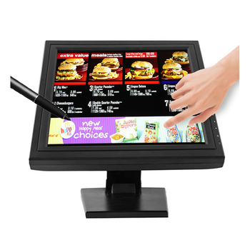 Bulk lcd Resistive touchscreen monitor 15 17 inch touch screen monitor raspberry pi touch pos monitor