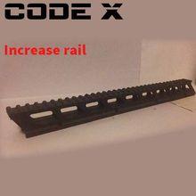 Кодовый гелевый шар X Balster LeHui Kriss Vector V2 DuanJian V2, увеличительная рейка, обновленная 3D-печать, увеличение хвоста, аксессуары для Игрушечного Пист...(Китай)