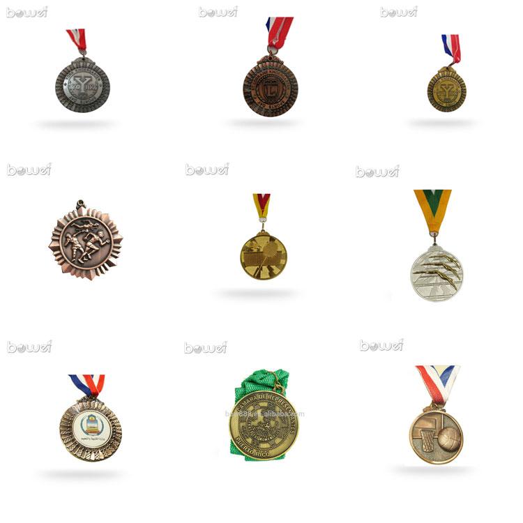 new custom metal 3D custom gold sports medal