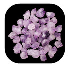 Hot sale chakra healing products natural precious amethyst quartz rough stone for teaching