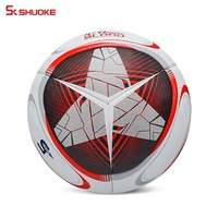 Training Football soccer ball size 5 official match Pu Leathers Football Ball