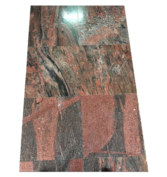 Factory Direct Red Granite Polished China Juparana Granite Red Granite Floor Tile