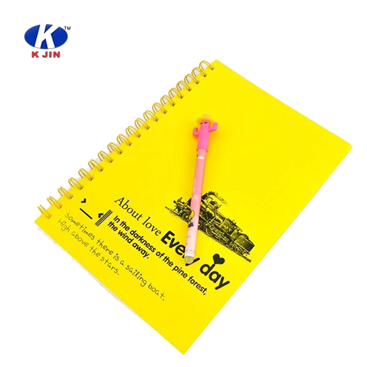 Hot sale spiral A4 notebook branded school notebook student exercise book