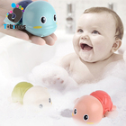 Playing turtle toy while swimming in the water 2020 baby bath toys