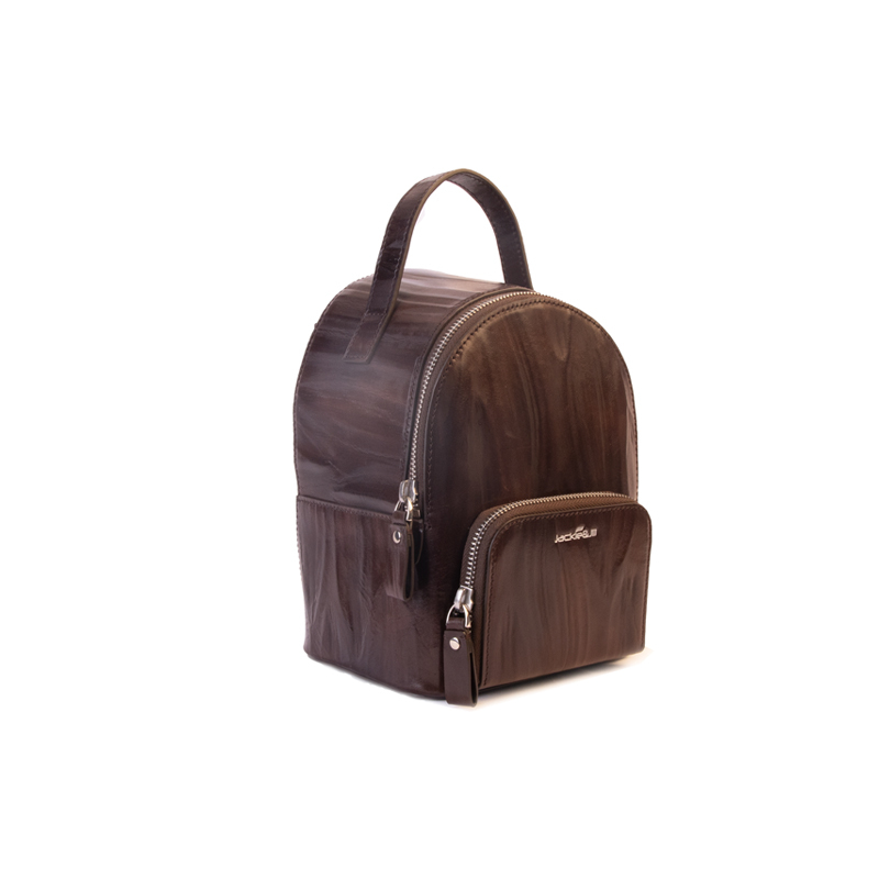 product-mochilas PU 2020 High Quality Vintage Leather Women Backpack Small Shoulder Bag Backpack Moc