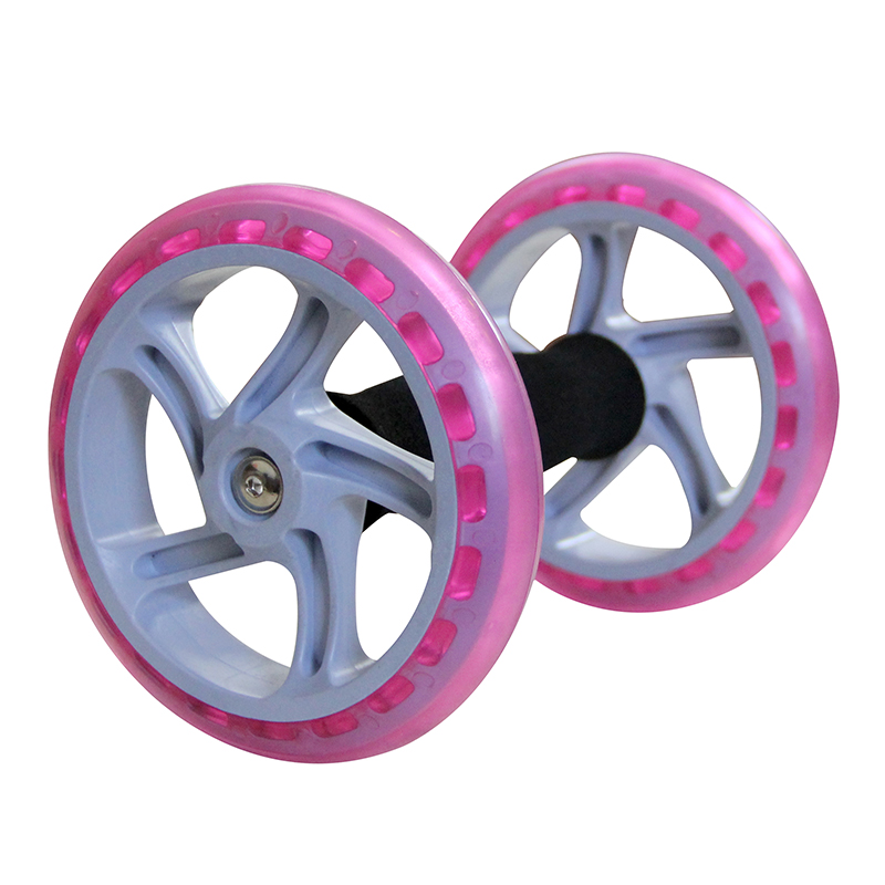 Exercise Equipment Two Wheels Abdominal AB Wheel