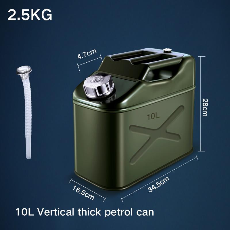 Высокое качество Портативный 10л канистра для бензина контейнер для хранения топлива полезный автомобильный бензиновый инструмент