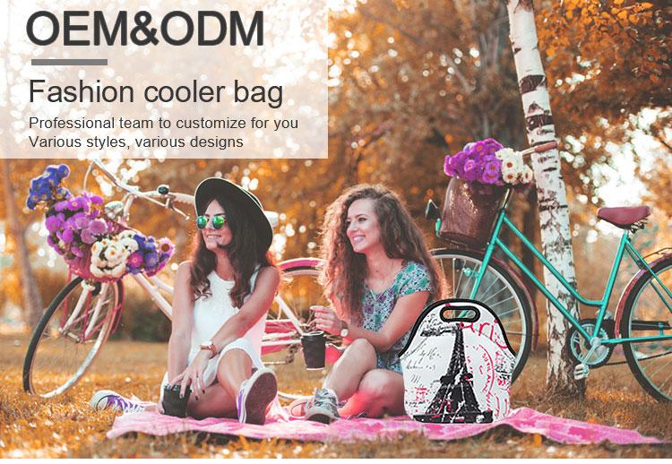 Изолированная Тепловая пустая сублимационная сумка для обеда, большая емкость, неопреновая сумка для обеда, сумки для обеда для женщин, мужчин, детей, мальчиков и девочек