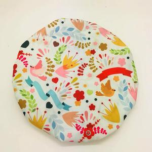 High quality eco friendly waterproof customized luxury shower cap