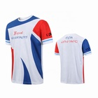 China Manufacturer Custom T Shirts Dry Fit Digital Tshirts Printing 100% Polyester Custom Design 3D Sublimation T-shirt Blanks
