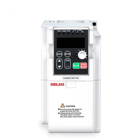 Delixi single phase to three phase rotary converter 220v electronic frequency inverter.