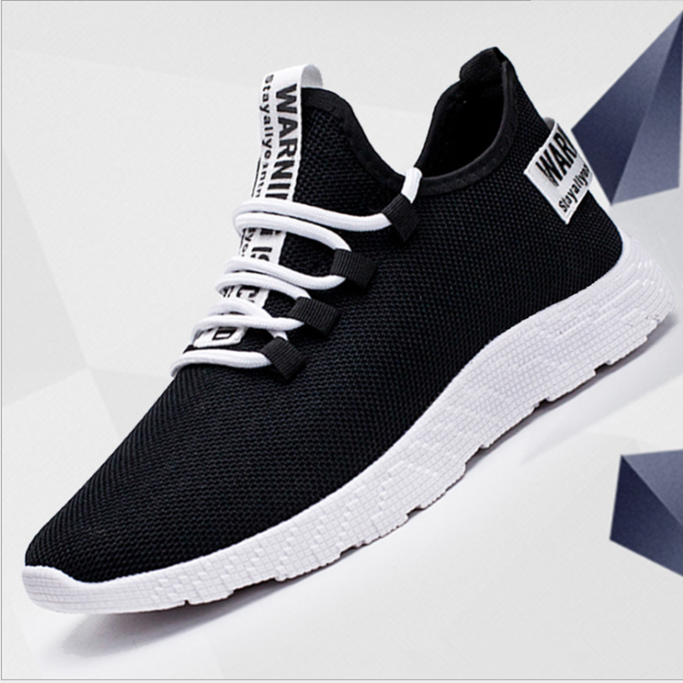 Wholesale Fashion Mesh Cloth Sneakers Men's Casual Sports Shoes