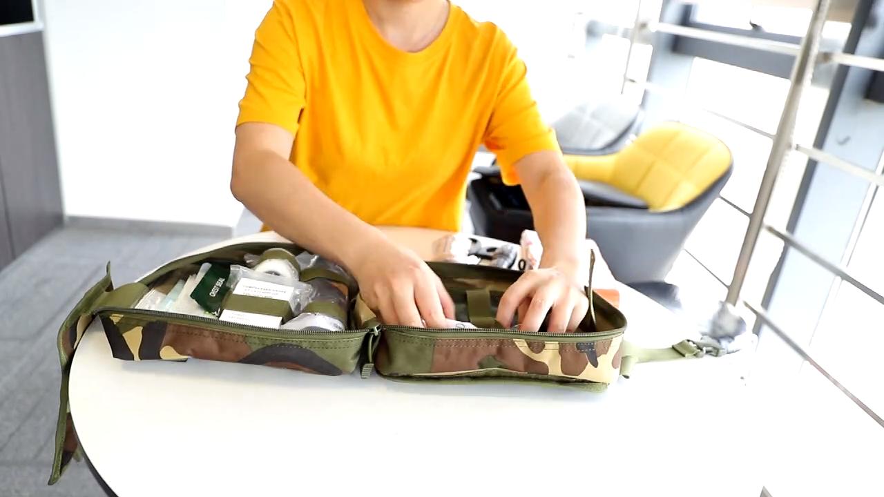फैक्टरी थोक पेशेवर सामरिक सैन्य उत्तरजीविता किट, व्यक्तिगत प्राथमिक चिकित्सा किट (Ifak)