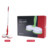 Kemei PU-007 Red Green Cordless Electric Floor Cleaner Multifunctional Mopping with Light Electric Floor  Mop
