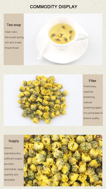 High Quality 100% Natural Organic Dry Flower Yellow Chrysanthemum Tea - 4uTea | 4uTea.com