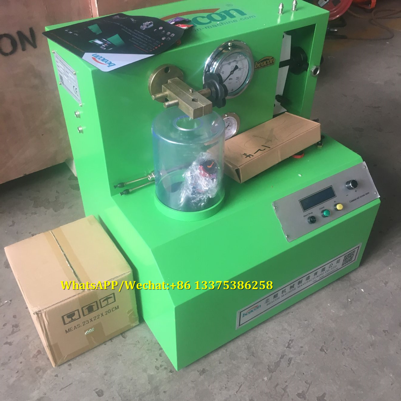 PQ1000 cr common rail diesel fuel injector test equipment