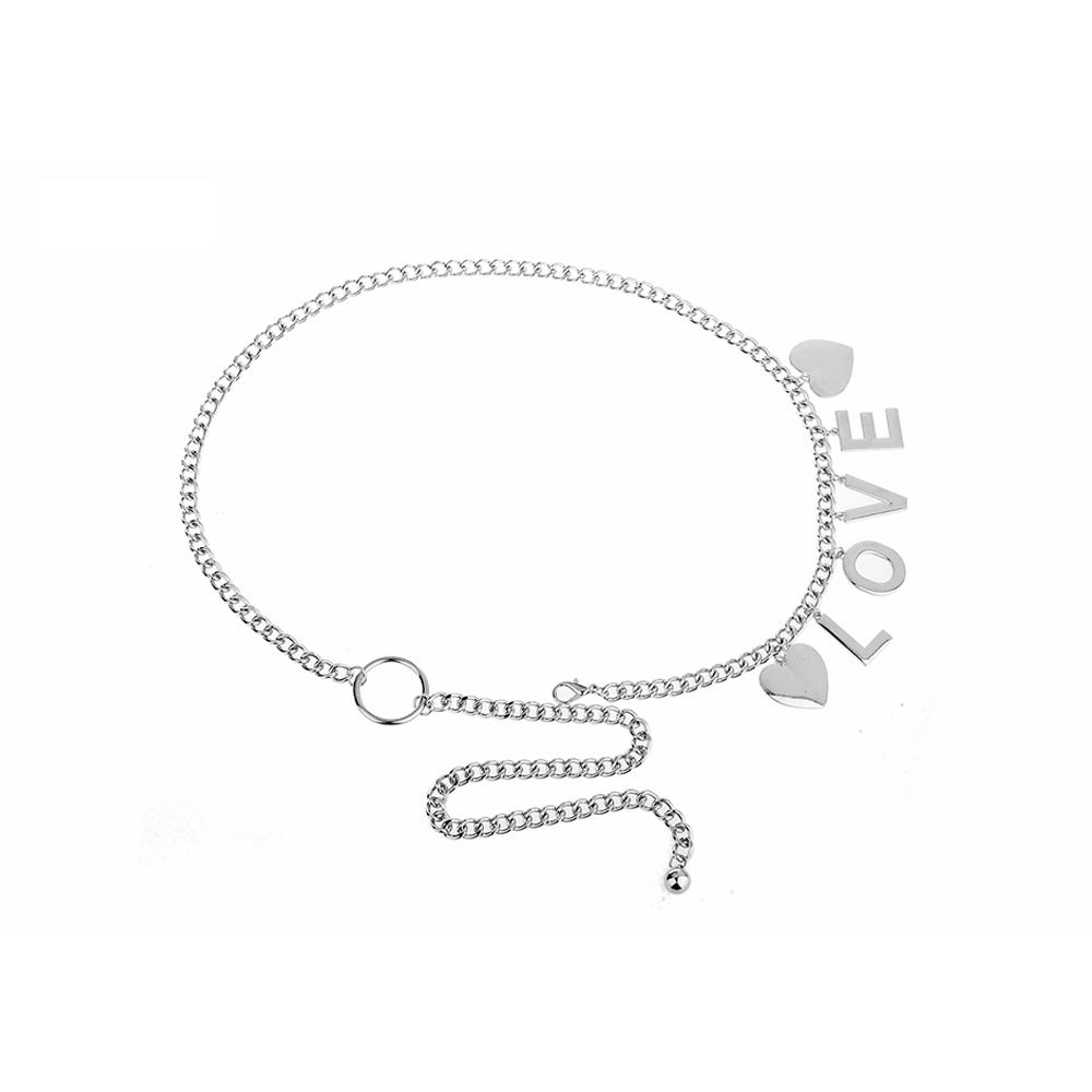 90cm length gold waist chain belt ceinture jewelry for sexy girls