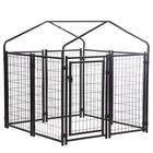 Outdoor Big Dog Cage 5*10*6FT Galvanized Steel Dog Kennel/Pet House/Pet Cage for Sale