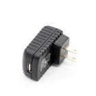 Efficiency level VI 5V 2A usb charger 5volt usb power supply with UL FCC ROHS 2years warranty
