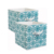 Cube non-woven fabric foldable toy storage box for clothes