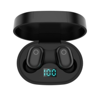 Free Shipping Bluetooth Earphone Headphone LED Display TWS Wireless Bluetooth Earbuds