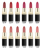 Hot sale and best quality Color1 to 12 MISS ROSE 42 Matte colors Waterproof Long Lasting lipstick