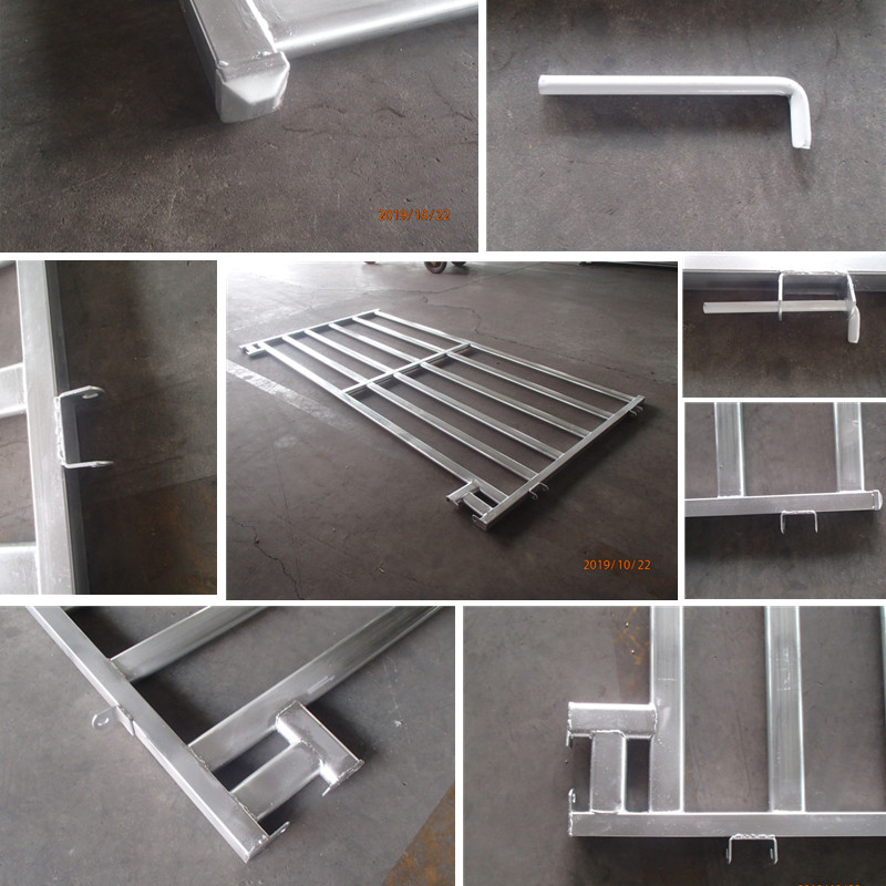heavy duty galvanized farm and ranch gates
