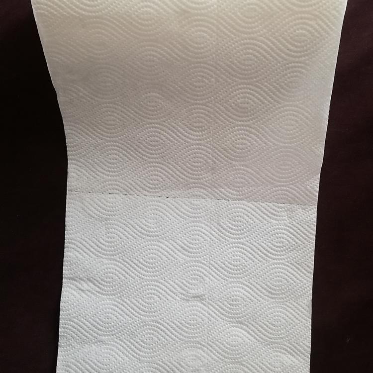 Nativo de pulpa de madera de cocina de toallas de papel 2 capa cocina toallas de papel