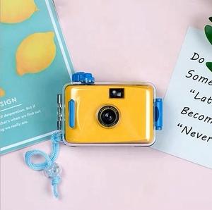 Colorful 35mm plastic waterproof underwater lomo camera
