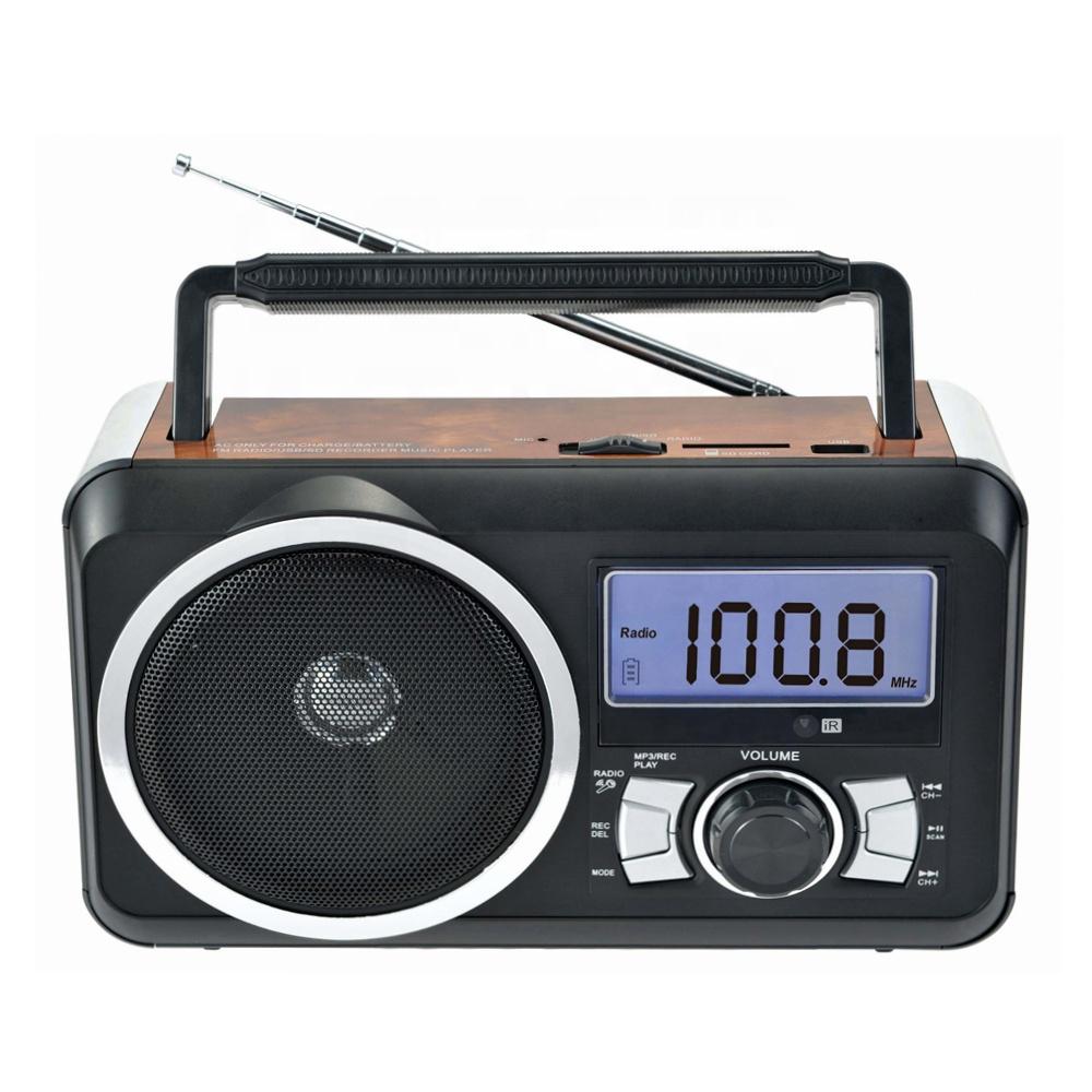גבוהה באיכות Fp-910Rc נייד USB/SD/TF חריץ מקליט קריוקי שקע Fm רדיו