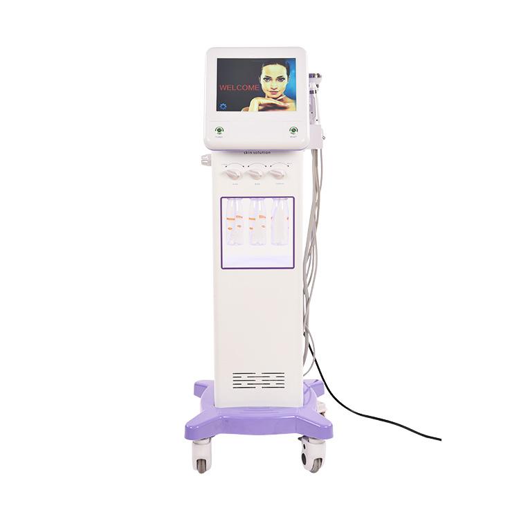 2020 новейшая Косметическая салонная продукция для лица очищающая машина для лица, лучшее оборудование для красоты Гидра-лица