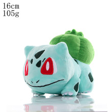 Kawaii Pokemon Pikachu Squirtle Charmander Gengar Bulbasaur Elf Psyduck Togepi набитая аниме плюшевая кукла игрушки Детский подарок(Китай)