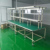 28mm ABS coated steel lean pipe for workshop shelves ESD workbench