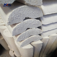 Perlite pipe is used for insulation layer of various industrial equipment pipeline