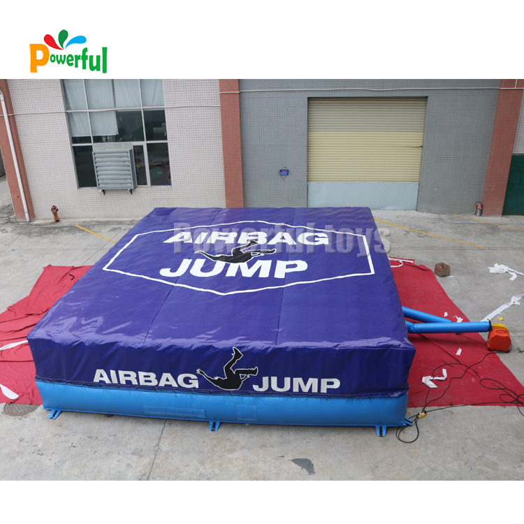 Safety landing 1.5mH airbag,trampoline airbag,stunt inflatable air bag