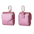 Beautiful Bling Bling Earphone Case For Airpod Case Smooth Metal Hanger import PU Leather Earphone Case
