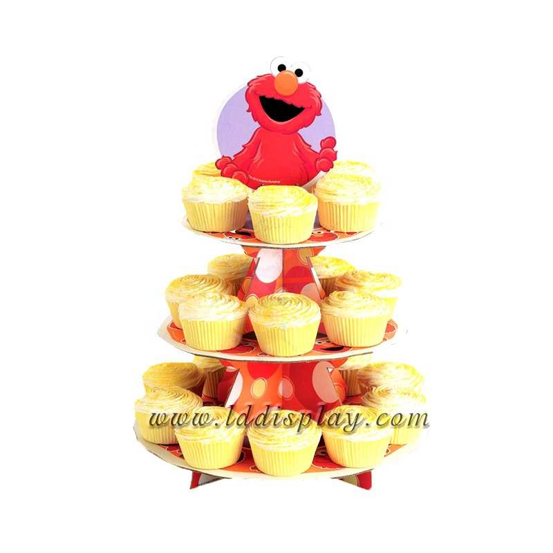 Factory Supplier New Design Durable Wholesale Custom Cake POP Stand