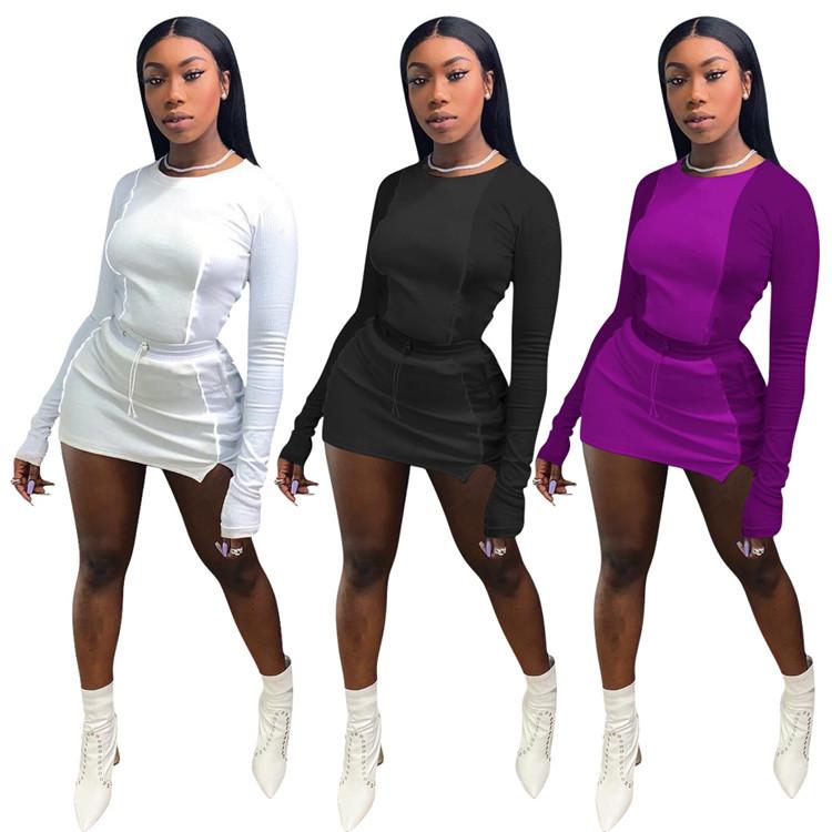 A91880 2020 dresses women 2020 long sleeve bodycon dress womens 2020 fashion stylish clothing