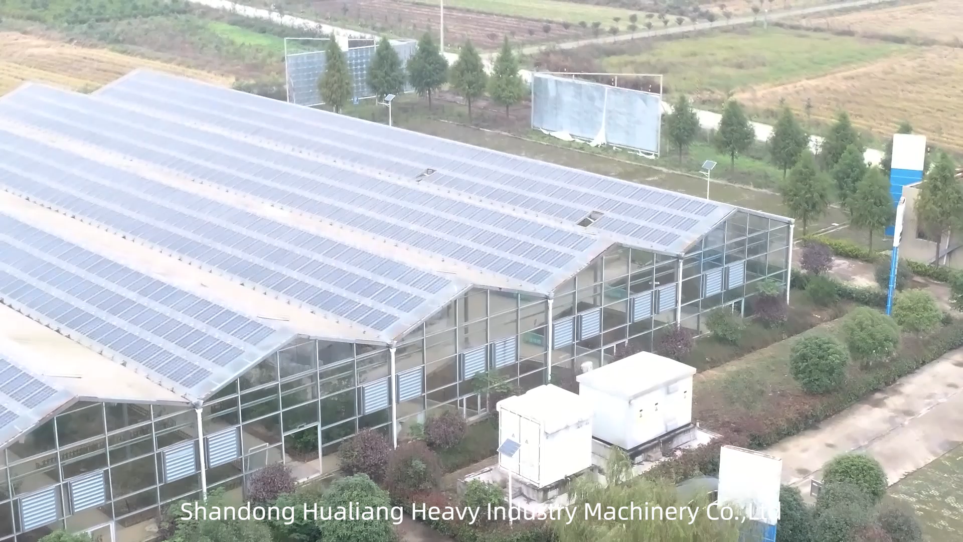 Photovoltaik Solar Glas Gewächshaus zu verkaufen
