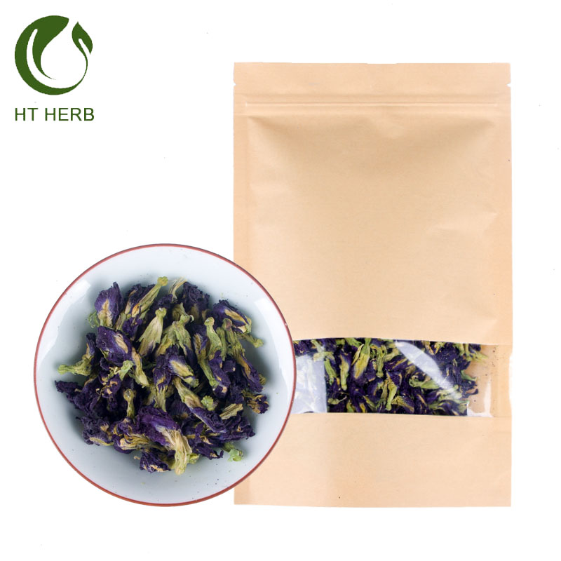 Purple flower butterfly pea tea dried butterfly Pea flower blue butterfly pea tea - 4uTea   4uTea.com