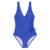 One-Piece V-neck Lace UP Sexy Woman Swimsuit Plus Size High Waist Swimsuit