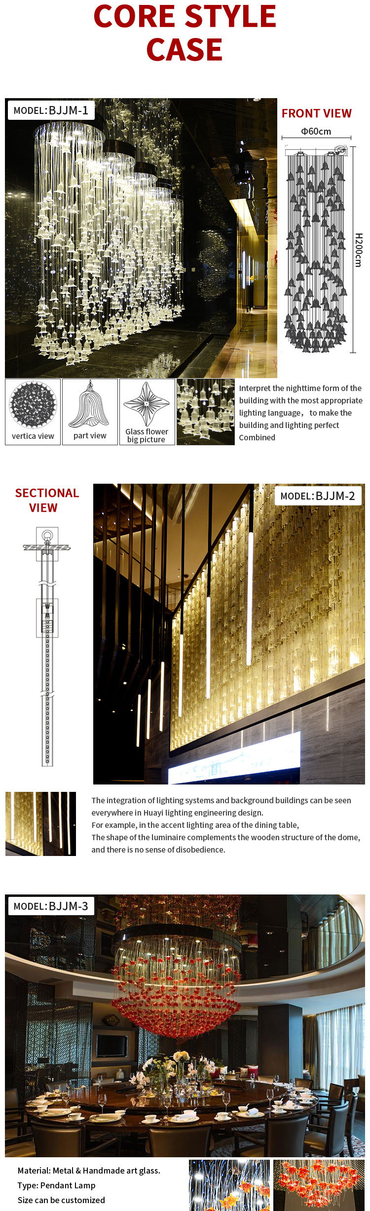 Beijing project case hotel lobby egyptian crystal chandelier square pendant light rectangle crystal chandelier for hotel