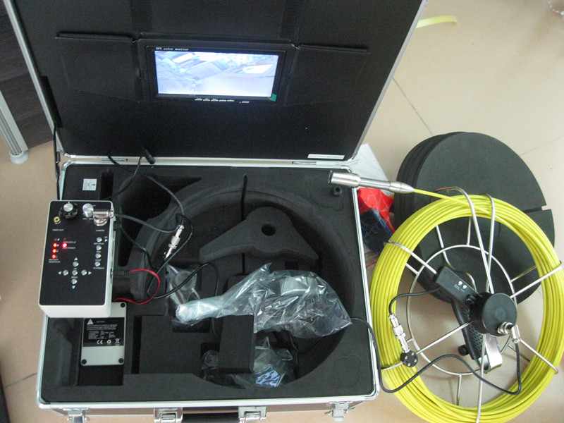 Multi-Functional Pipe Inspection Video Camera Z710DM 23mm lens industrial endoscope 7 inch monitor.