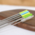Factory direct sale colorful metal straw eco-friendly reusable stainless steel drinking straw with brush