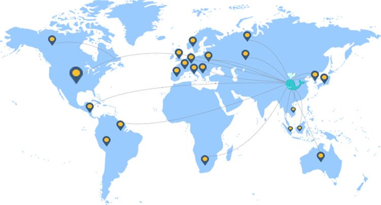 Meer versand spediteur von Hongkong Guangzhou Shenzhen nach Spanien
