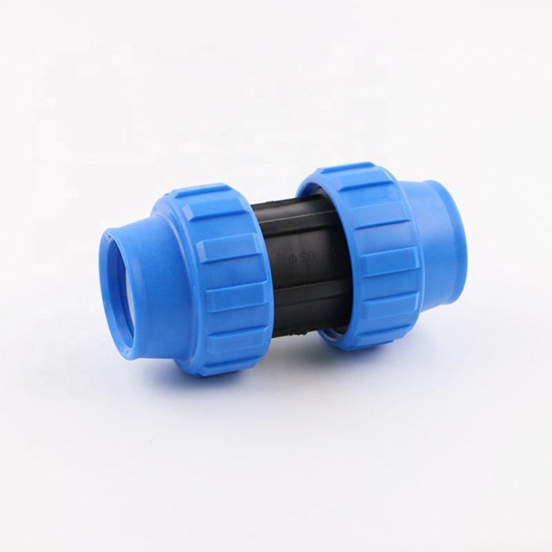 Widely used agricultural PP Compression Plastic PE Pipe <strong>Fittings</strong> For Irrigation System